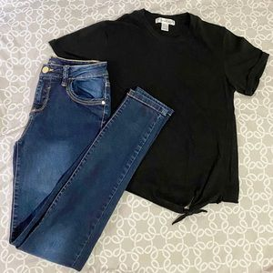 Jeans 👖 and T-Shirt Set